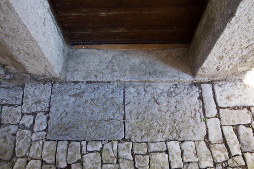 Borgata Zuanes - Pavimentazione entrata