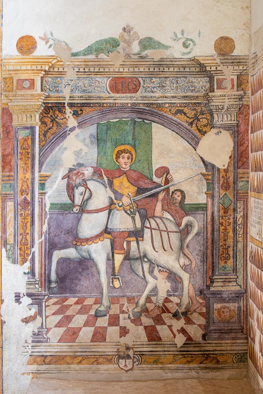 Carità di San Martino, Marco Tiussi 1564