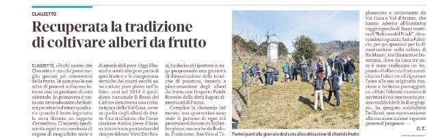 Messaggero Veneto 1 marzo 2020