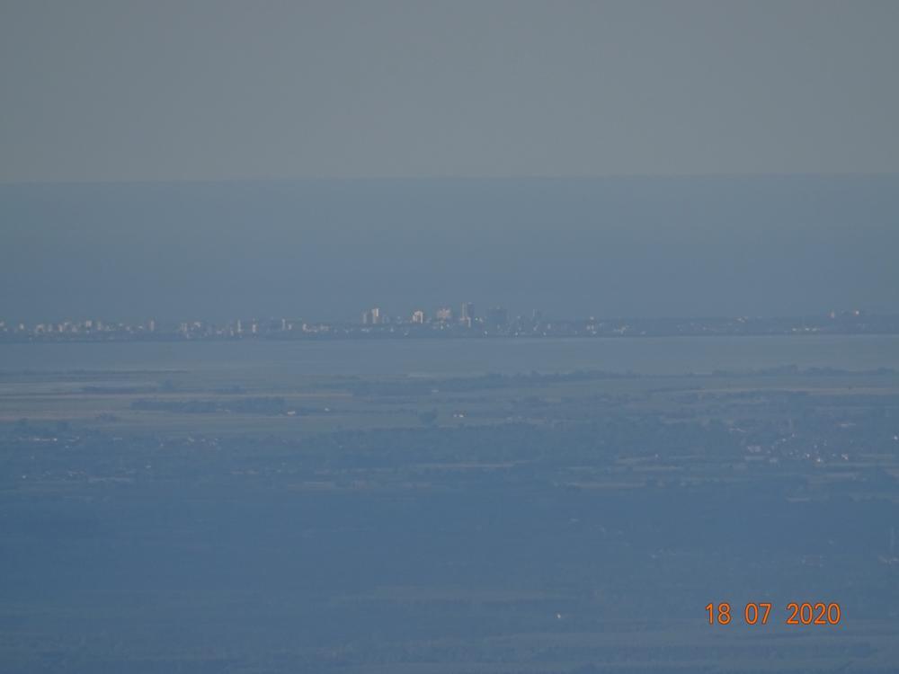 Vista su Lignano dal paese di Clauzetto