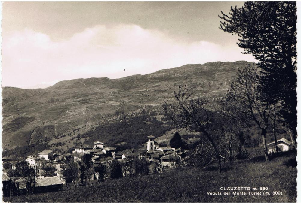 Veduta del monte Turiet, anni '60