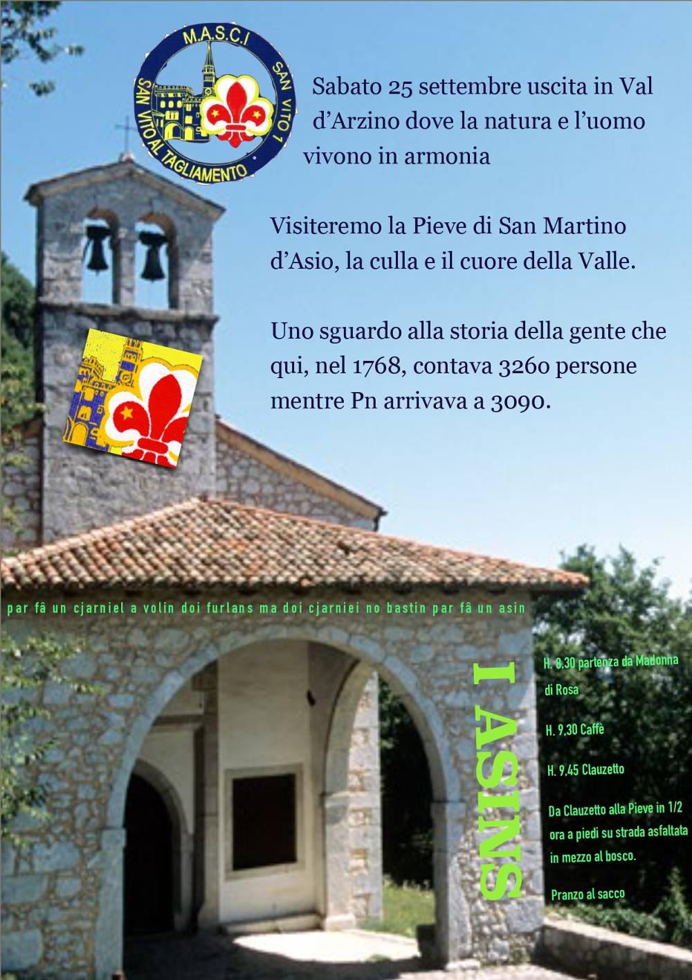 Visita guidata alla Pieve di San Martino