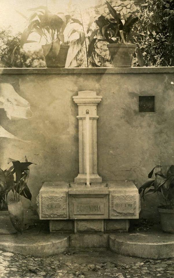 Vecchia fontana di Dominisia