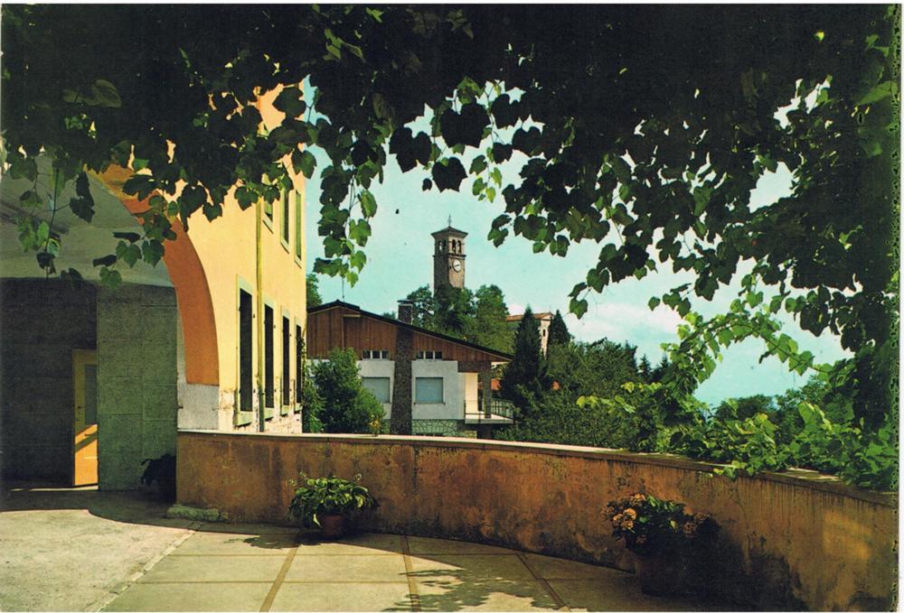 Dalla terrazza dell'albergo Posta, anni '60
