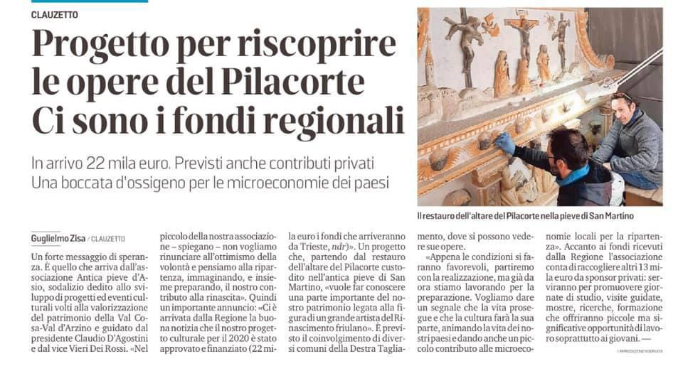 Messaggero Veneto 14 aprile 2020