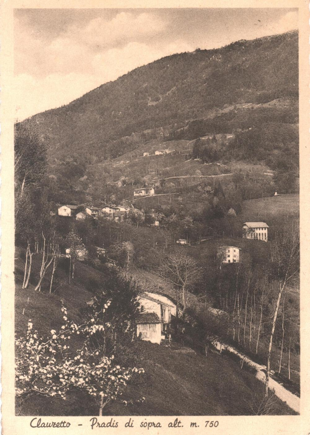 Pradis di sopra, anni '40