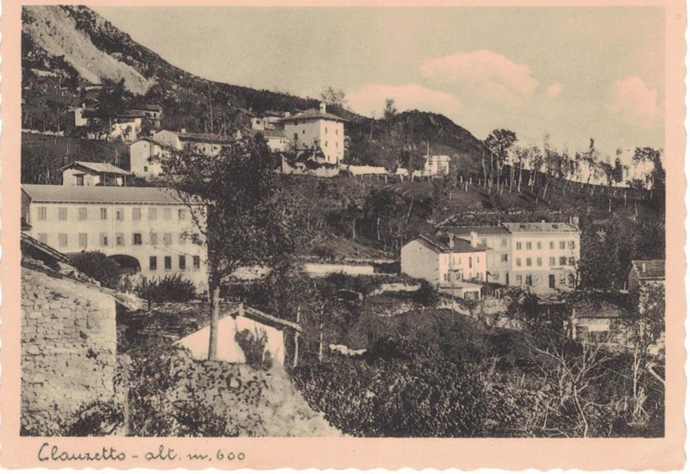 CLAUZETTO, ANNI '40