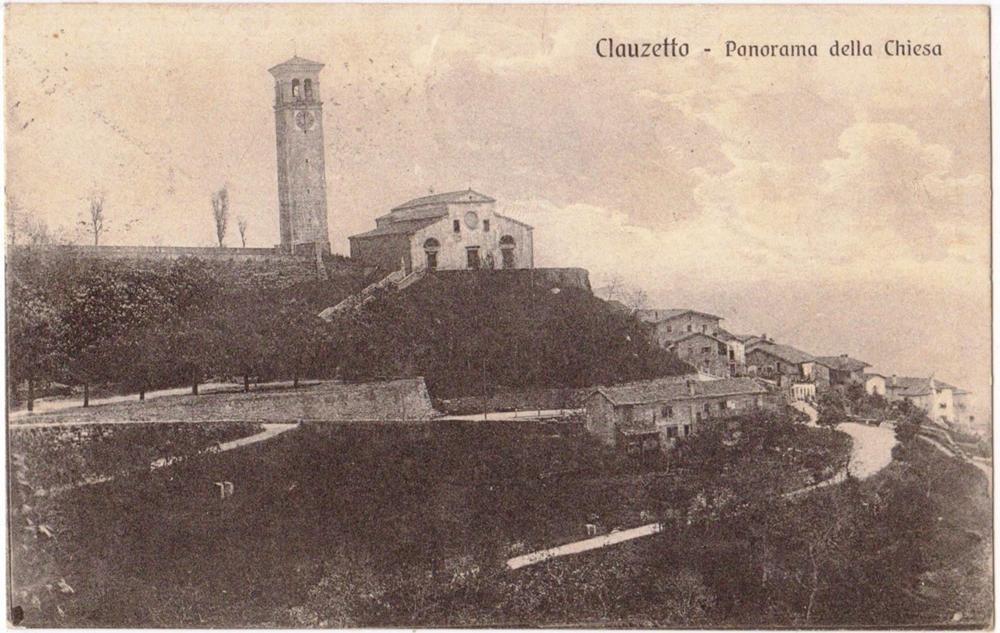 Panorama della chiesa, anni '20