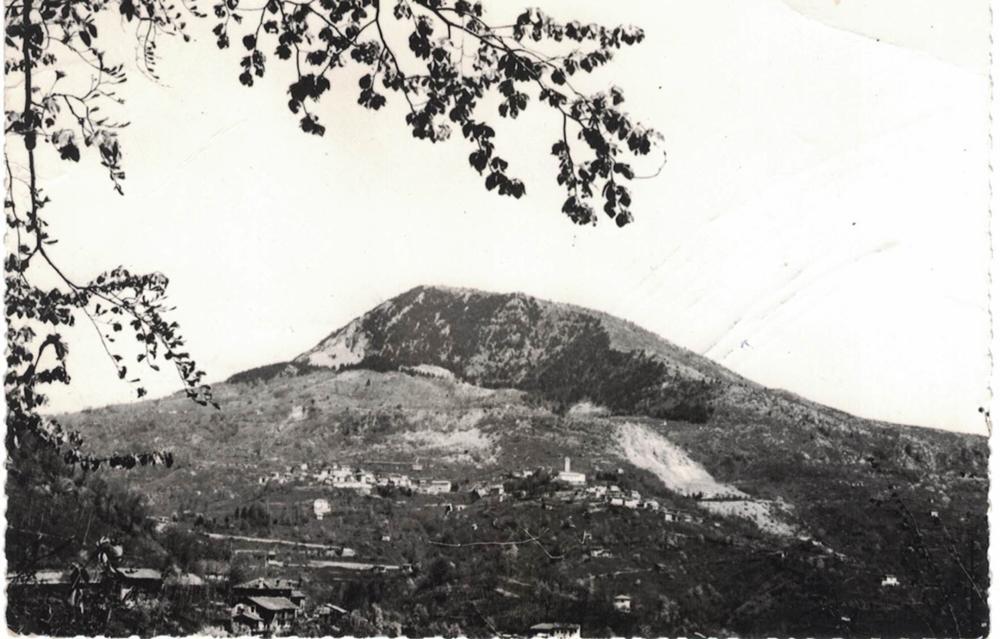 Panorama con il monte Pala, anni '50
