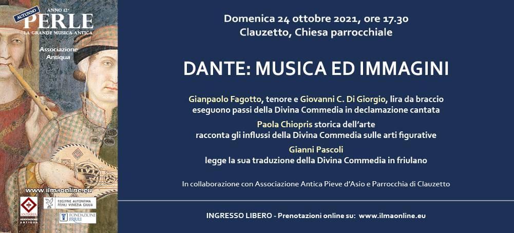 Dante: musica ed immagini