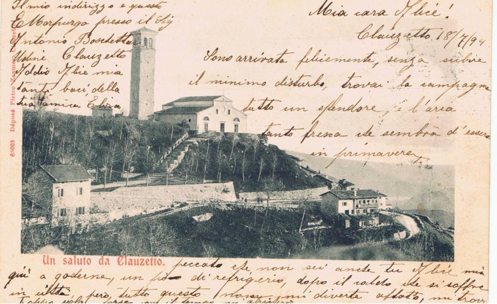 Panorama della chiesa 1894