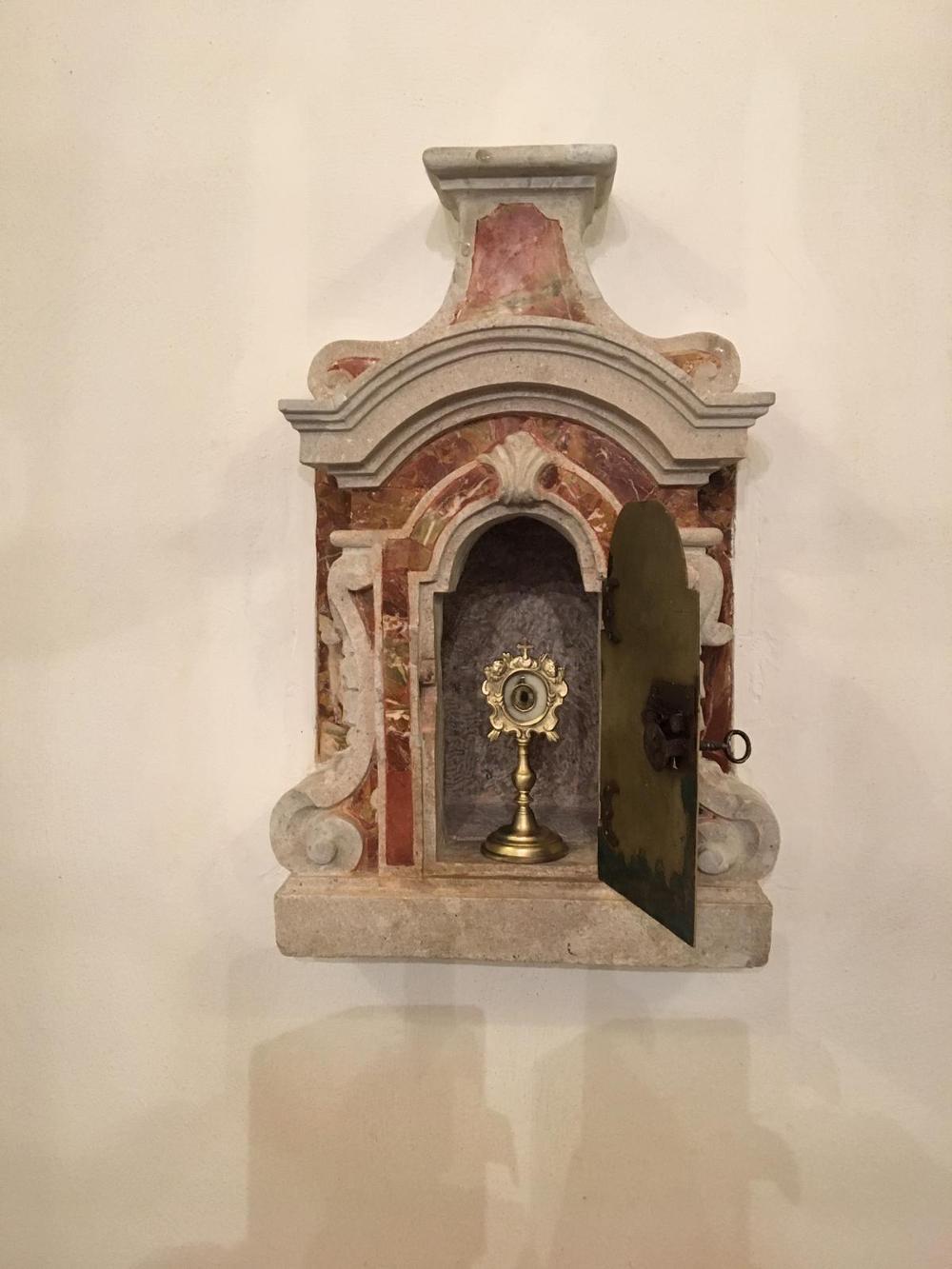 tabernacolo, prima metà XVIII secolo