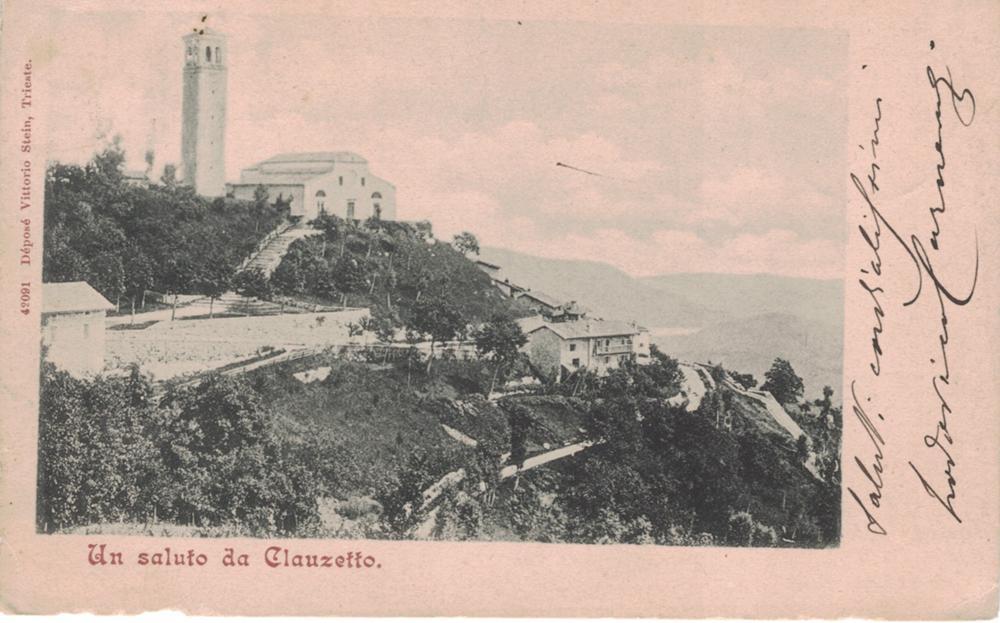 Panorama della chiesa, fine '800