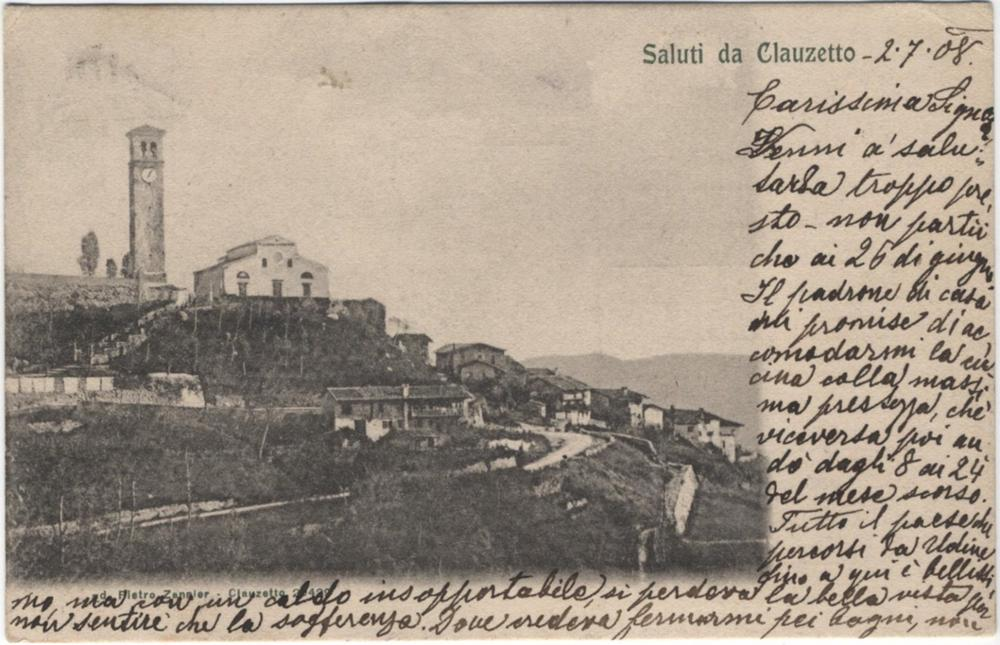 Panorama della chiesa, 1908