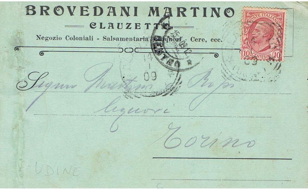 Ditta Clauzettana Brovedani Martino