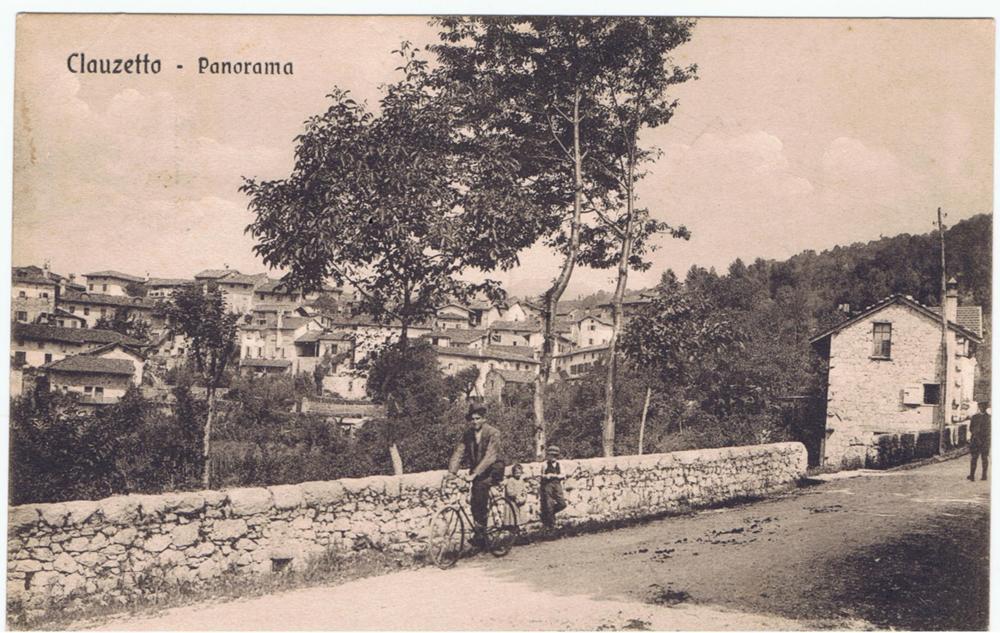La Villa con il vecchio forno circa 1915