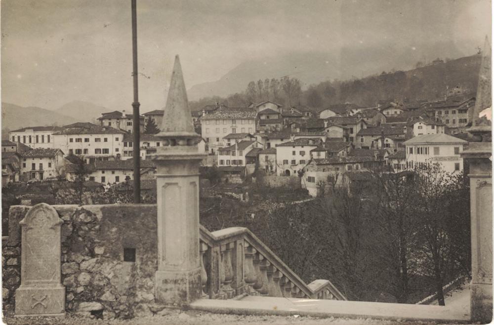 Panorama dalla chiesa, anni 20