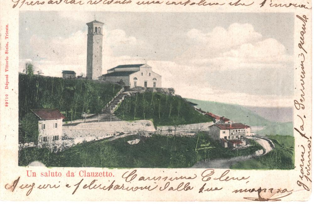 Panorama della chiesa, 1905