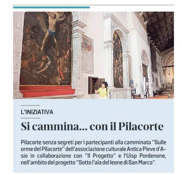 Il Messaggero Veneto 14 luglio, p. 32