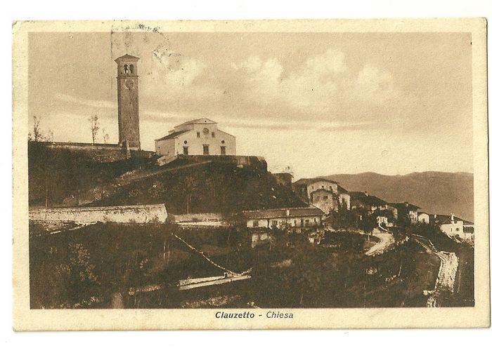 Panorama della chiesa, anni '30