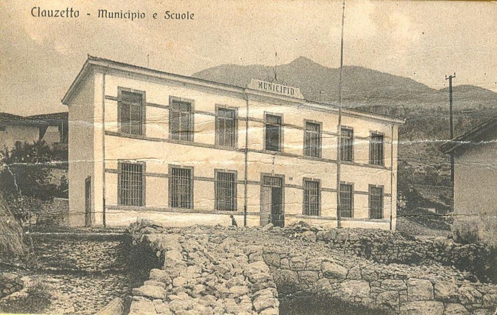 Vecchio municipio e scuola, anni '10/'20