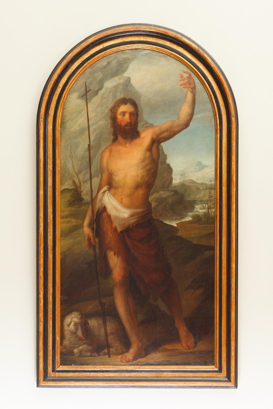Pala di San Giovanni Battista di Odorico Politi 1824