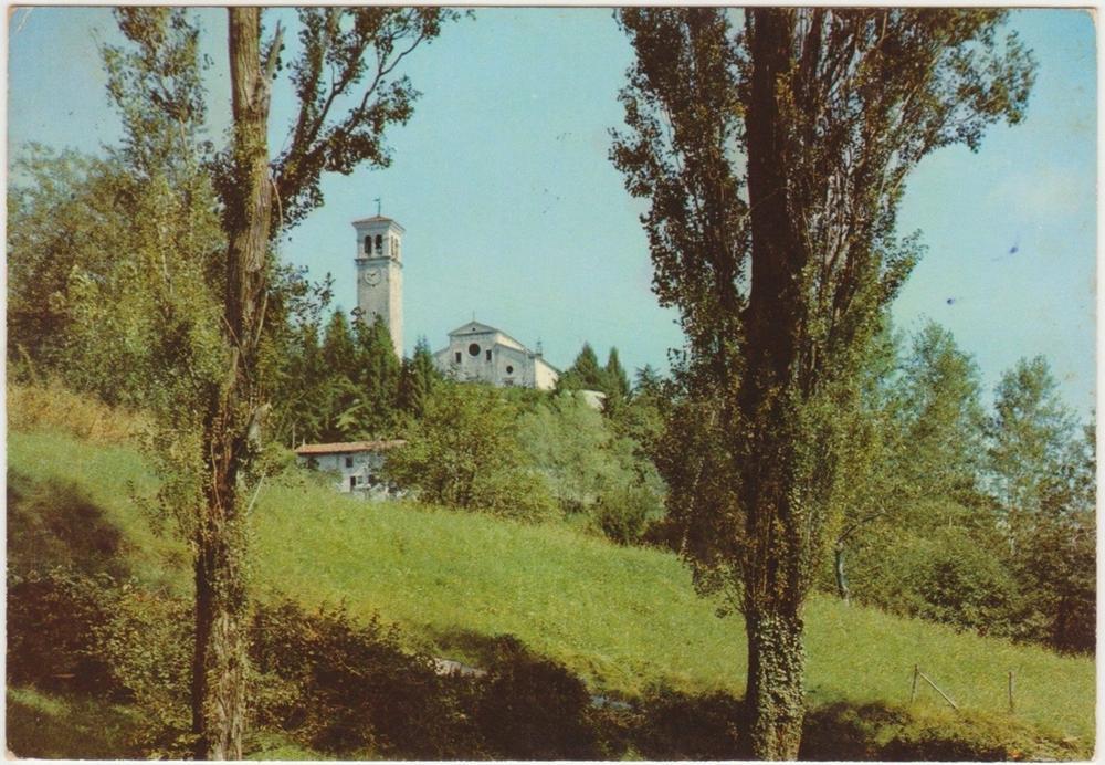 veduta della chiesa, anni '70