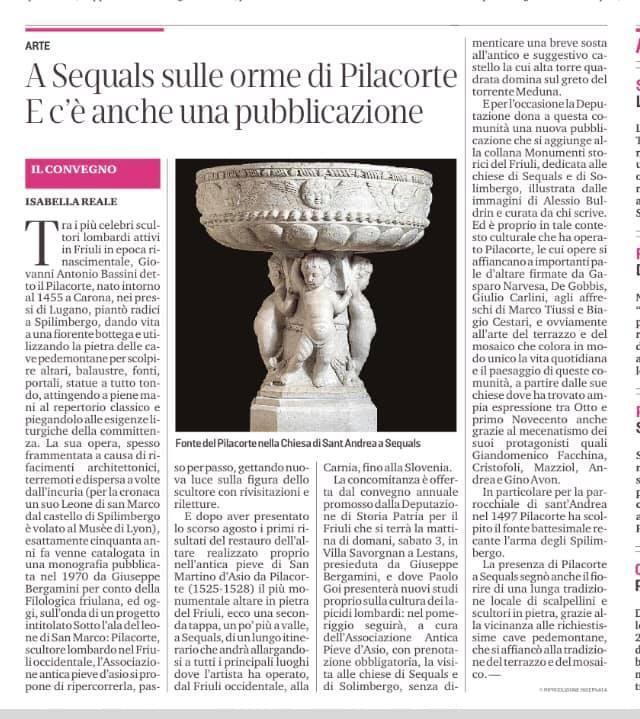 Messaggero Veneto 2 ottobre 2020