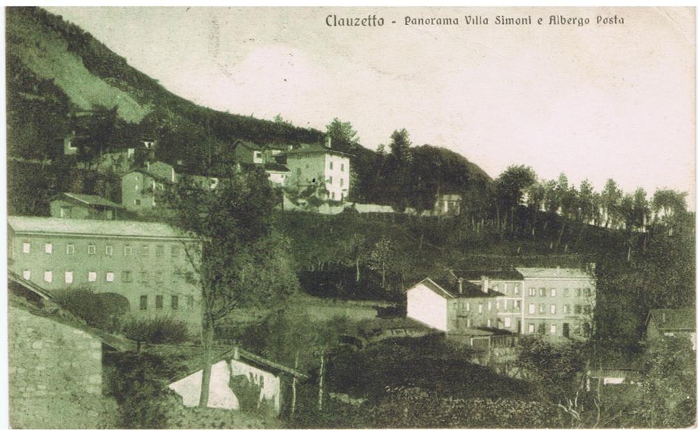 Panorama Villa Simoni e Albergo posta 1930