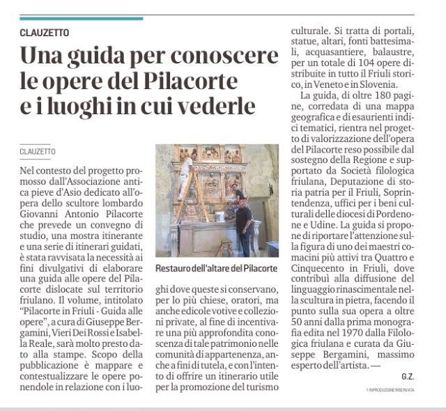 Messaggero Veneto 24 aprile 2021