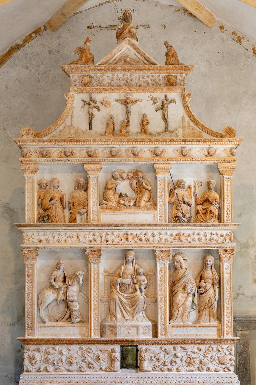 Altare di Giovanni Antonio Pilacorte 1525-1528