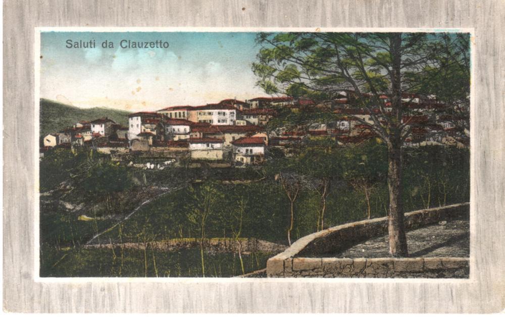Panorama della Villa, colorata a mano, anni '10