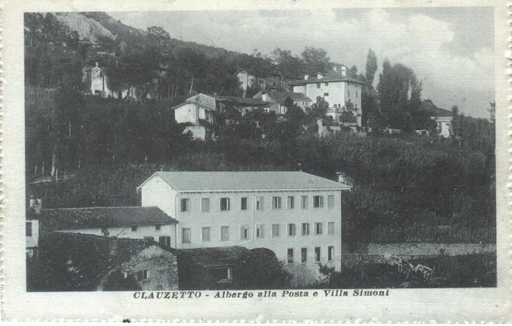Albergo alla Posta e Villa Simoni, anni 40