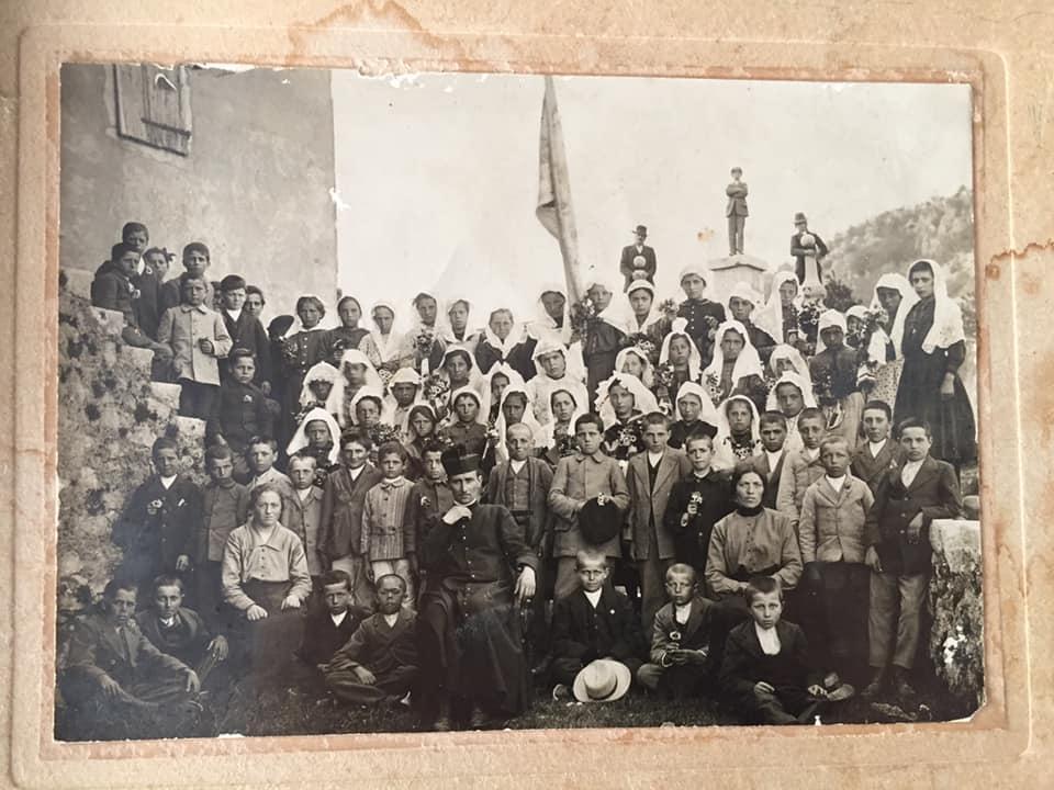Foto di gruppo, prima comunione
