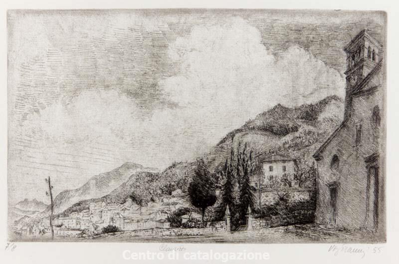 Virgilio Tramontin - Incisione