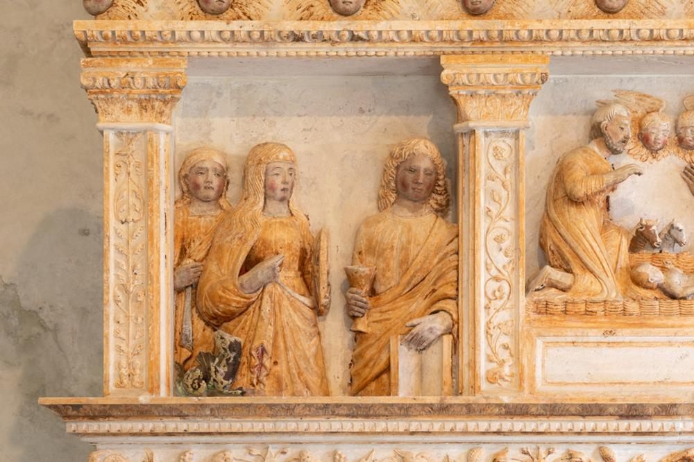 Santa Margherita, Santa Caterina e San Giovanni evangelista