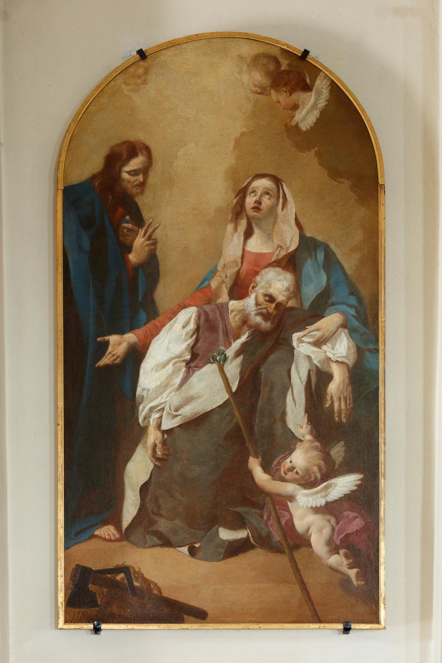 Giuseppe Angeli, transito di San Giuseppe