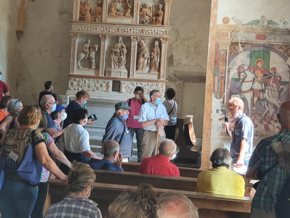 Itinerario culturale a Clauzetto e Vito d'Asio