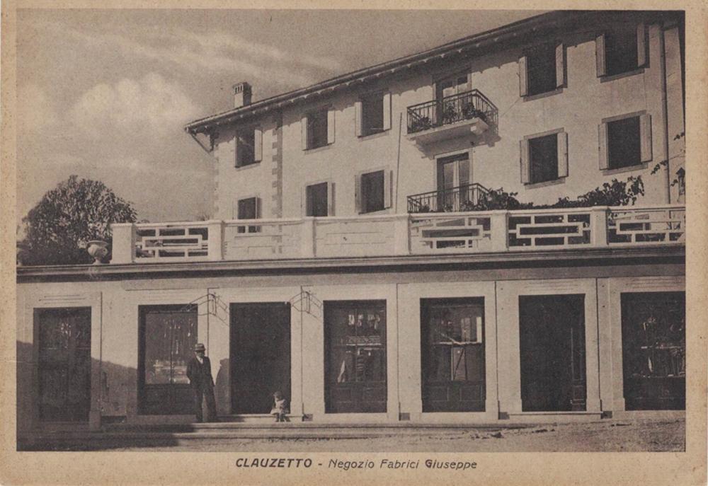 Negozio Fabrici Giuseppe, anni '30